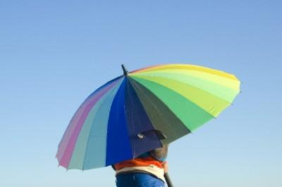 レディースの傘