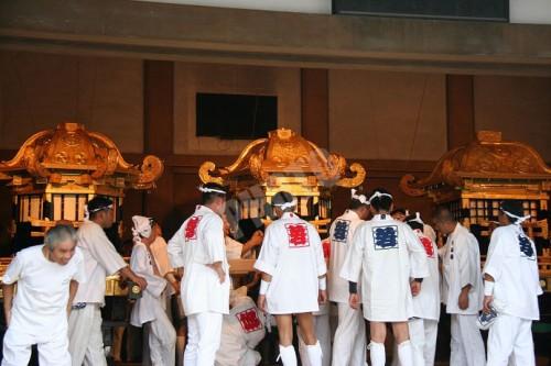 神幸祭の神輿
