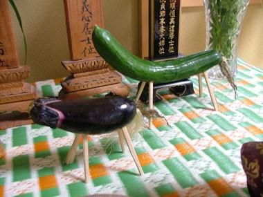茄子と胡瓜
