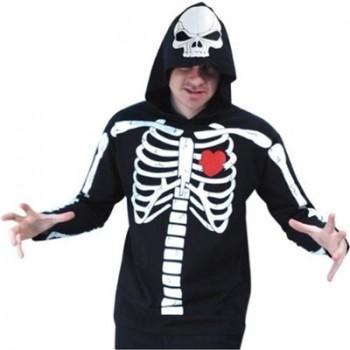 骸骨の仮装