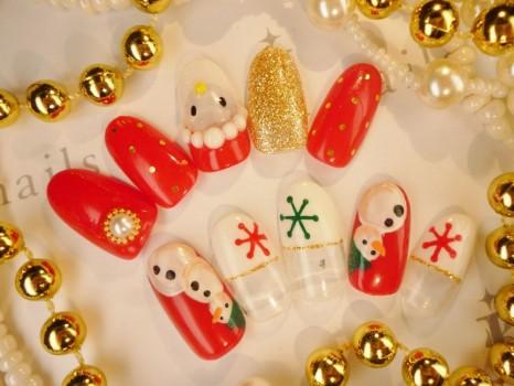 クリスマスネイル6