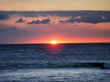 ハワイの初日の出
