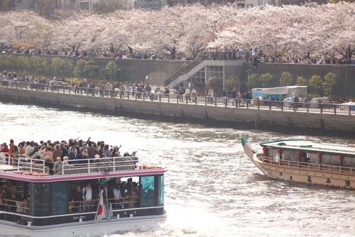 隅田川の花見船