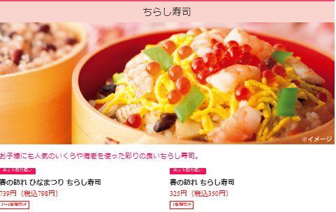 セブンイレブンのちらし寿司