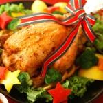 クリスマスの定番、丸鶏のローストチキンの簡単な作り方!オーブンがなくても大丈夫