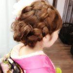 成人式で人気の編み込みの髪型を紹介!アレンジにヘアアクセサリーも